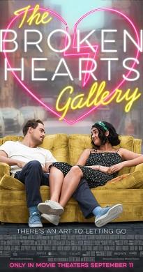 فيلم The Broken Hearts Gallery 2020 مترجم اون لاين